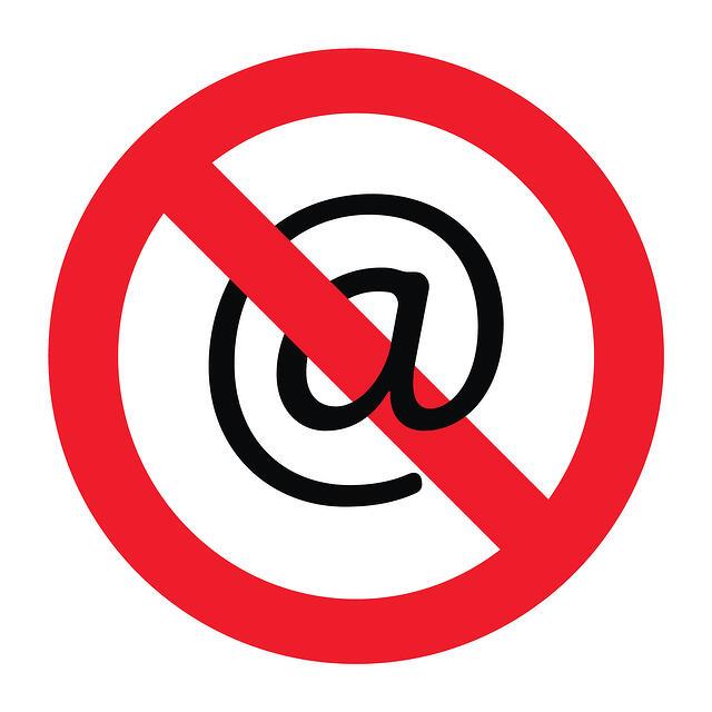 bigstock-Forbidden-emailing-45880336