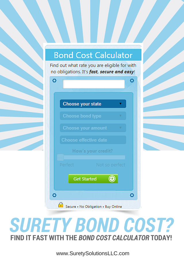 bond cost calculator