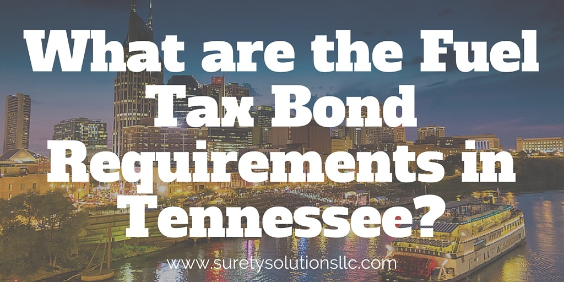 Fuel tax bond