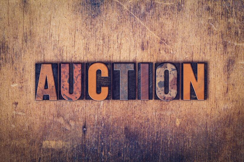 washington auctioneer bond